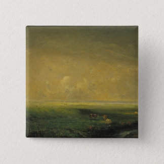 Rain and Sun, c.1873 Pinback Button