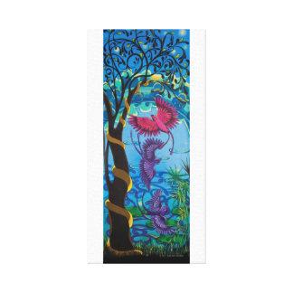 Rain Birds at 6:30 by Julie Ann Stricklin Canvas Print