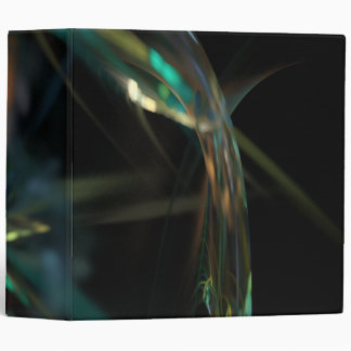 """Rain Blurred World"" 3-Ring Binder"