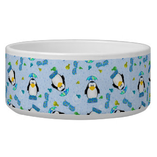 Rain boots Penguin Pet Bowls