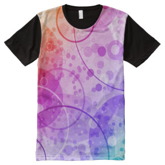 RAIN BUBBLES IN RAINBOWS All-Over-Print T-Shirt