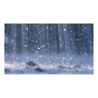 Rain Double-Sided Standard Business Cards (Pack Of 100)