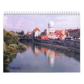 Rain Wall Calendar