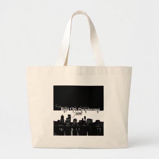 Rain City Paranormal -- Cityscape Bag