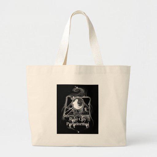 Rain City Paranormal -- Oregon State Ghostie Tote Bag