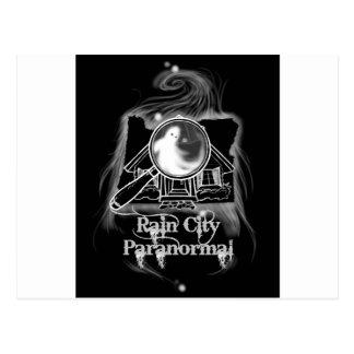 Rain City Paranormal -- Oregon State Ghostie Postcard