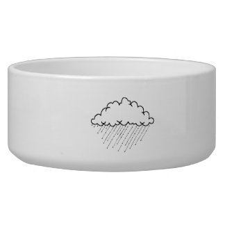 Rain Cloud Pet Water Bowl