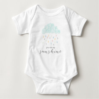 Rain Clouds Baby Bodysuit