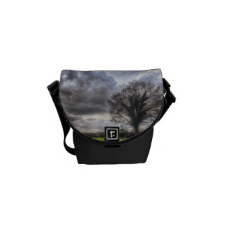 Rain Clouds in Spring HDR Courier Bag