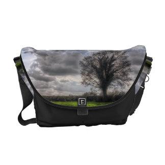 Rain Clouds in Spring HDR Messenger Bag