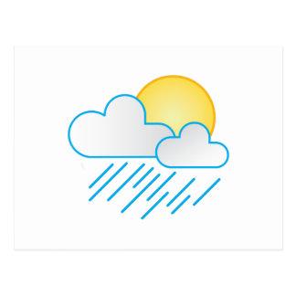 Rain Clouds Post Cards