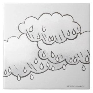Rain Clouds Tile