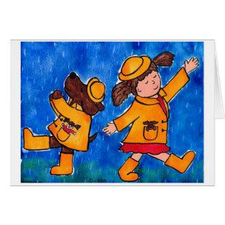 Rain Dance Card