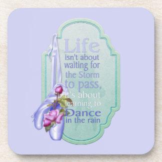 Rain Dance Drink Coaster