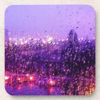 Rain Down on Me Beverage Coaster