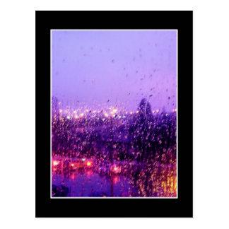 Rain Down on Me Postcard