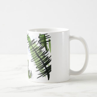 Rain Drenched Ferns and Frog Coffee Mug