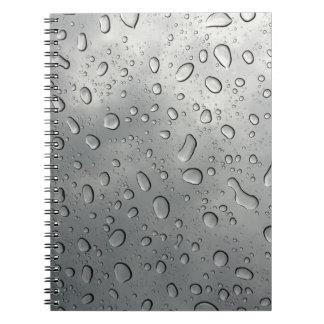 Rain Drop Notebook