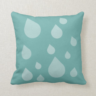 rain drop of kissing throw pillow
