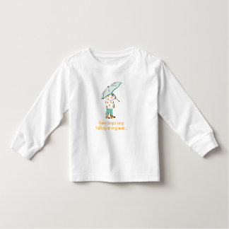 Rain drops keep falling on my head... toddler t-shirt