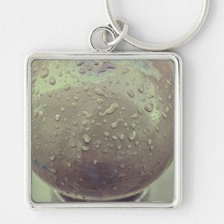 Rain drops keychain