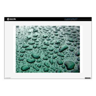 Rain Drops Laptop Decal
