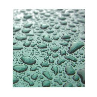 Rain Drops Note Pads