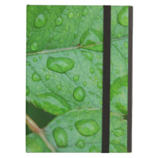 Rain Drops on Leaves mf Case For iPad Air