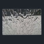 "Rain drops on the window placemat<br><div class=""desc"">Rain drops on the window</div>"