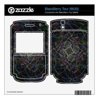 Rain Drops Skin For BlackBerry Tour