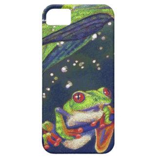 Rain Drops Tree Frog iPhone 5 Case