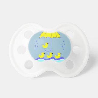 Rain Ducks 0-6 months BooginHead® Pacifier