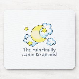 RAIN ENDED MOUSEPAD
