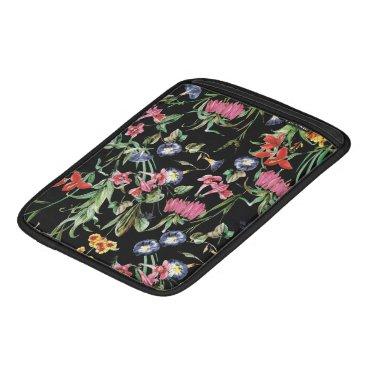 RAIN FLOWERS iPad SLEEVE