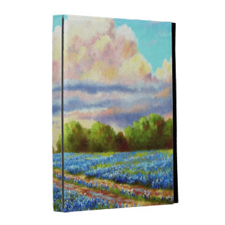 Rain For The Bluebonnets iPad Folio Cases