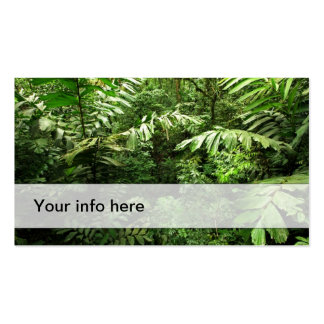 Rain forest business card