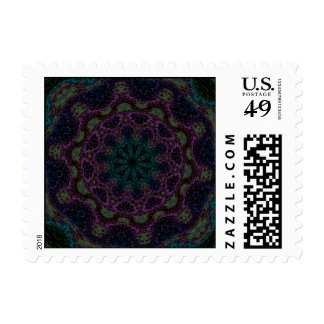 Rain Forest Flower - Number Three Stamps