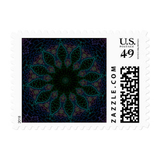 Rain Forest Flower - Number Two Stamps
