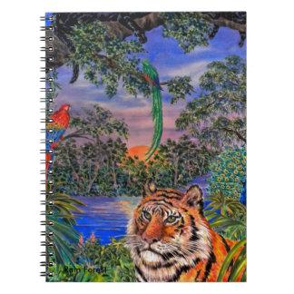 Rain Forest Spiral Note Books