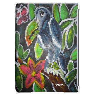 Rain forest  toucan art iPad air cover