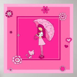Rain Girl Poster
