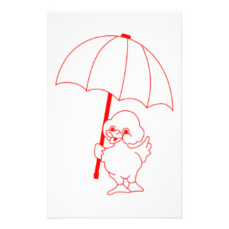 Rain Go Away Stationery