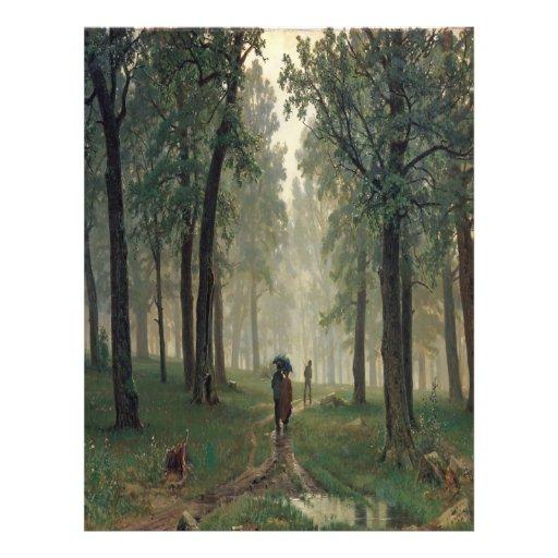 'Rain in an Oak Forest' Flyers