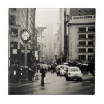 Rain in New York City - Vintage Style Tiles