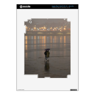 Rain in Seoul iPad 3 Skin