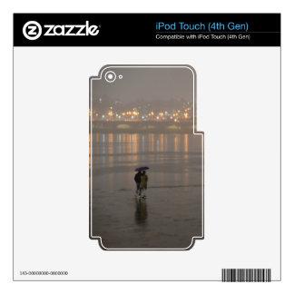 Rain in Seoul iPod Touch 4G Decal