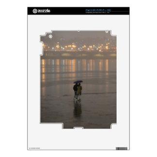 Rain in Seoul Skins For iPad 2