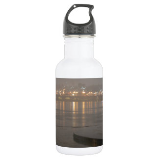 Rain in Seoul Stainless Steel Water Bottle
