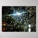 Rain in the night # 1 poster