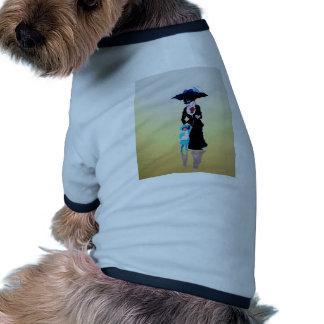 Rain_in_Wonderland Camiseta De Perro